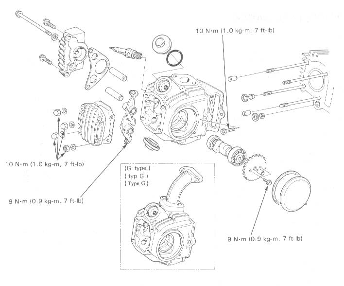 Torque Setting For Cylinder Head